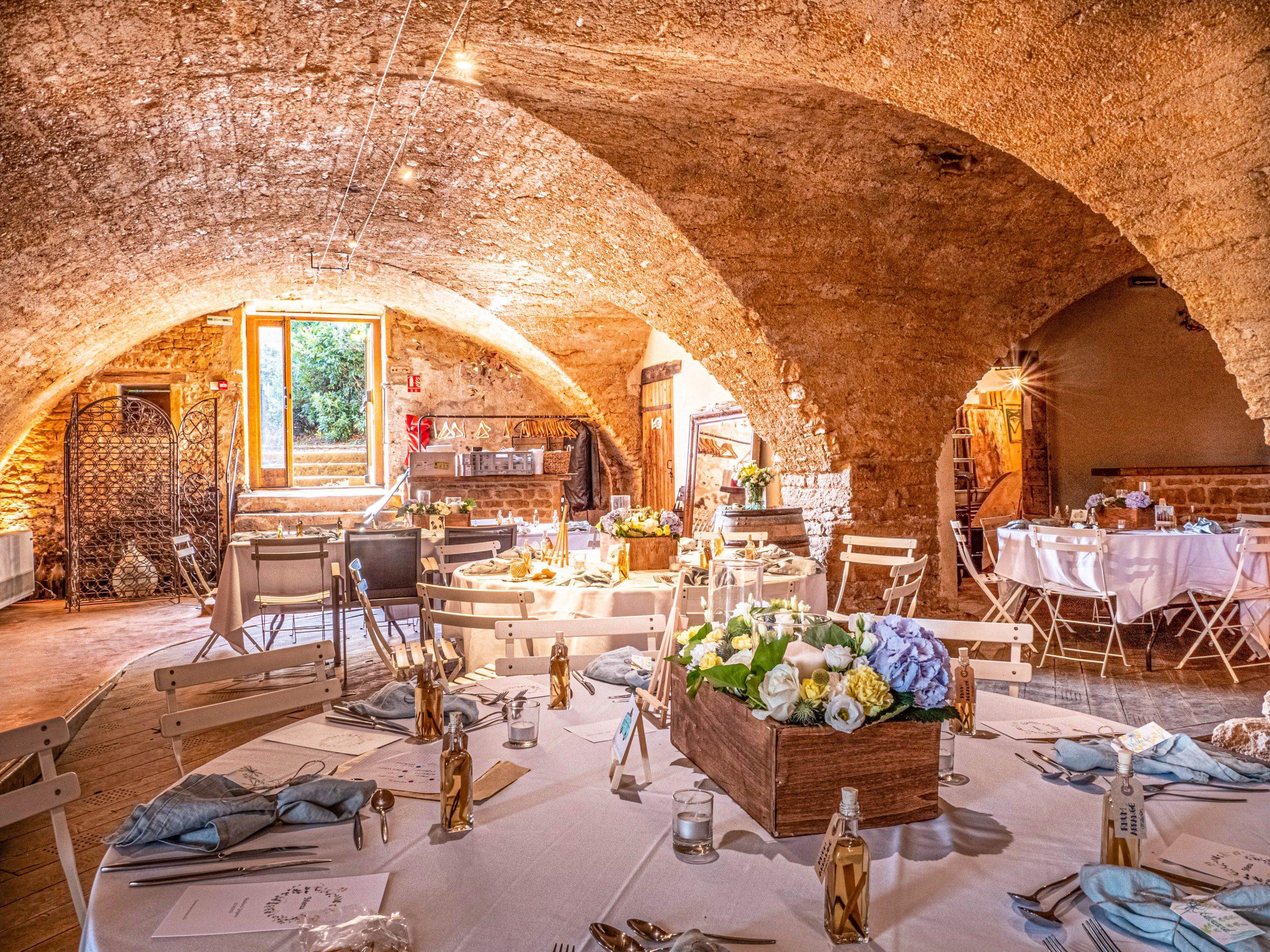 Domaine des Coteaux d'Or mariage Beaujolais
